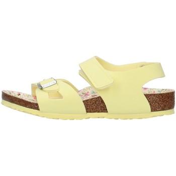 Schuhe Mädchen Sandalen / Sandaletten Birkenstock 1019683 GELB