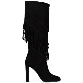 Schuhe Kinder Klassische Stiefel Saint Laurent  Schwarz