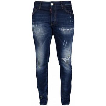 Kleidung Kinder Slim Fit Jeans Dsquared  Blau