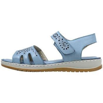 Schuhe Damen Sandalen / Sandaletten Amanda  Blau