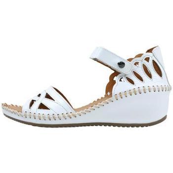 Schuhe Damen Sandalen / Sandaletten Amanda  Weiss