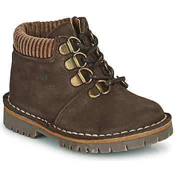 Schuhe Jungen Boots Citrouille et Compagnie PRINCE Braun