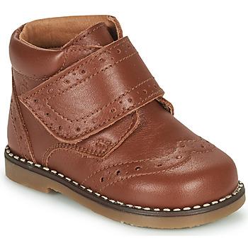 Schuhe Jungen Boots Citrouille et Compagnie PROYAL Camel