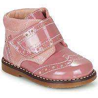 Schuhe Mädchen Boots Citrouille et Compagnie PROYAL Rose