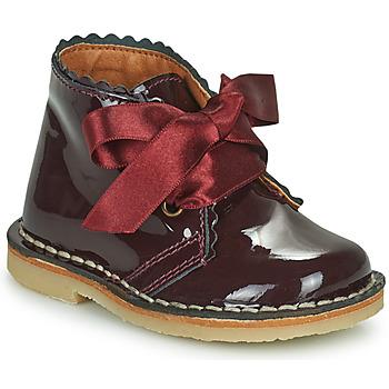 Schuhe Mädchen Boots Citrouille et Compagnie PASTEQU Bordeaux