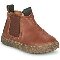 Schuhe Jungen Boots Citrouille et Compagnie PESTACLE Camel