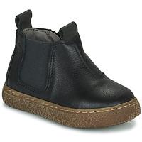 Schuhe Jungen Boots Citrouille et Compagnie PESTACLE Schwarz