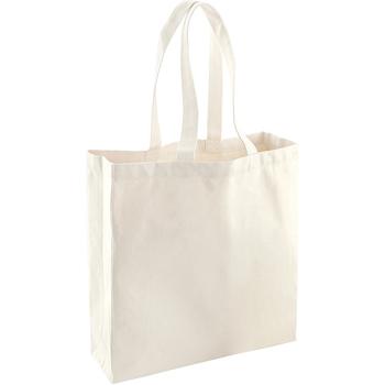 Taschen Shopper / Einkaufstasche Westford Mill WM623 Natur