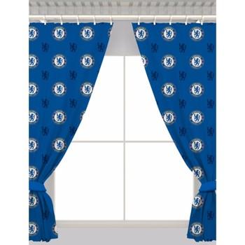 Home Vorhänge, Jalousien Chelsea Fc 168 x 137 cm SG10150 Blau