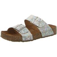 Schuhe Damen Pantoffel Haflinger Pantoletten 819016 1633 beige