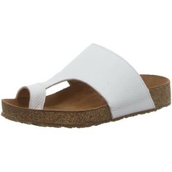 Schuhe Damen Zehensandalen Haflinger Pantoletten 819061 1644 weiß
