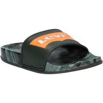 Schuhe Kinder Pantoletten Levi's VPOL0070S POOL Verde