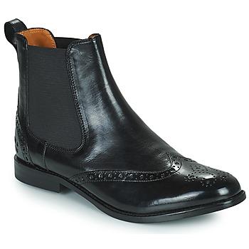 Schuhe Damen Boots Melvin & Hamilton AMELIE 5 Schwarz