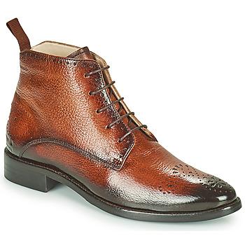 Schuhe Damen Boots Melvin & Hamilton BETTY4 Braun