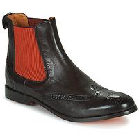 Schuhe Damen Boots Melvin & Hamilton AMELIE 5 Braun / Orange