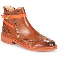 Schuhe Damen Boots Melvin & Hamilton SELINA 25 Braun