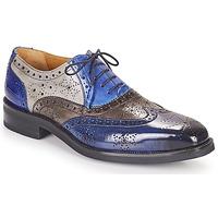 Schuhe Herren Derby-Schuhe Melvin & Hamilton JEFF 28 Blau