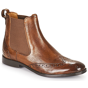 Schuhe Damen Boots Melvin & Hamilton AMELIE 5 Braun