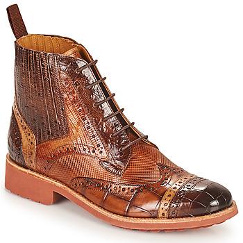 Schuhe Damen Boots Melvin & Hamilton AMELIE 17 Braun