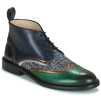 Schuhe Damen Boots Melvin & Hamilton SALLY 30 Braun