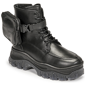 Schuhe Damen Boots Bronx JAXSTAR MID Schwarz