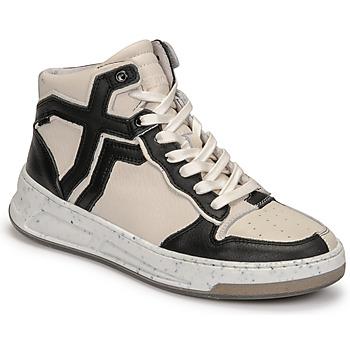 Schuhe Damen Sneaker High Bronx OLD COSMO Weiss / Schwarz