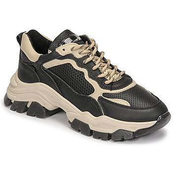 Schuhe Damen Sneaker Low Bronx TAYKE OVER Schwarz