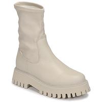 Schuhe Damen Boots Bronx GROOV Y Weiss