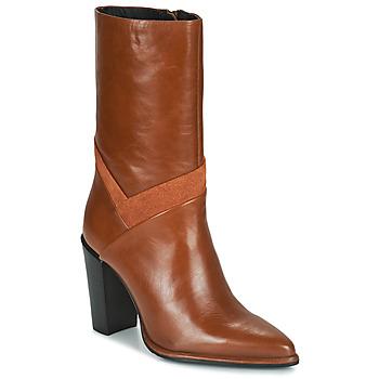 Schuhe Damen Klassische Stiefel Bronx NEXT AMERICANA Braun