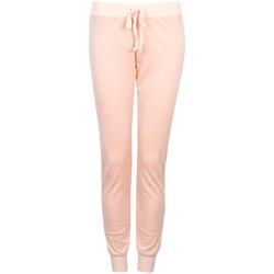Kleidung Damen Jogginghosen Juicy Couture  Rose