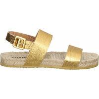 Schuhe Damen Sandalen / Sandaletten Shabbies Amsterdam Sandalen Gold