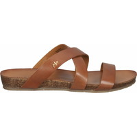 Schuhe Damen Sandalen / Sandaletten Mexx Pantoletten Tan