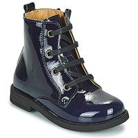 Schuhe Mädchen Boots Citrouille et Compagnie HEMANU Blau