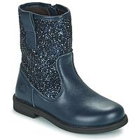 Schuhe Mädchen Boots Citrouille et Compagnie JUCKER Blau