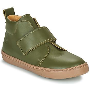 Schuhe Jungen Boots Citrouille et Compagnie FOJAMO Kaki