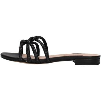 Schuhe Damen Pantoffel Albano 8120 SCHWARZ