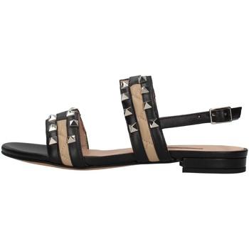 Schuhe Damen Sandalen / Sandaletten Albano 8116 SCHWARZ