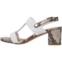Schuhe Damen Sandalen / Sandaletten Albano 8074 GRAU