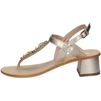 Schuhe Damen Sandalen / Sandaletten Keys K-5170 PLATIN