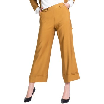 Kleidung Damen Anzughosen Akè F646XBAWEN Beige