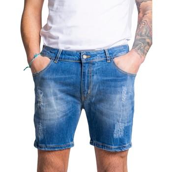 Kleidung Herren Shorts / Bermudas Exclusive Paris 3J12EX-DC Blu
