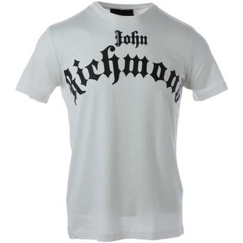 Kleidung Herren T-Shirts John Richmond HMA20102TS Bianco