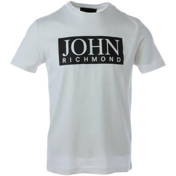 Kleidung Herren T-Shirts John Richmond HMA20100TS Bianco