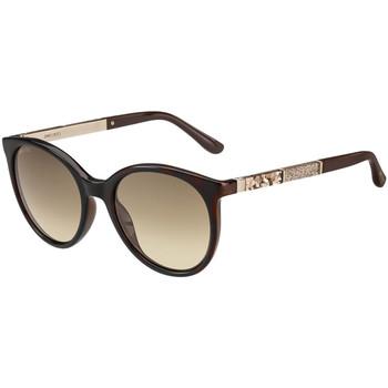 Uhren & Schmuck Damen Sonnenbrillen Jimmy Choo  Braun