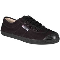 Schuhe Herren Sneaker Low Kawasaki FOOTWEAR - Legend canvas shoe - black Schwarz