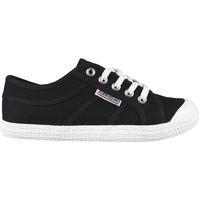 Schuhe Herren Sneaker Low Kawasaki FOOTWEAR - Tennis canvas shoe - black Schwarz