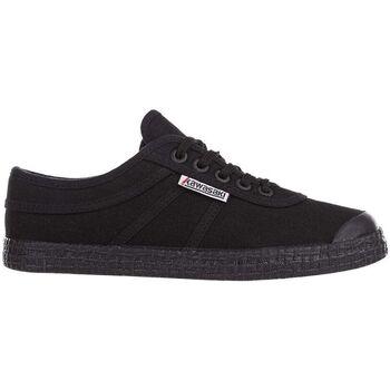 Schuhe Herren Sneaker Low Kawasaki FOOTWEAR - Teddy canvas shoe - black solid Schwarz
