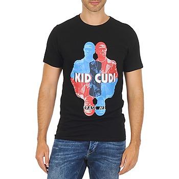 Kleidung Herren T-Shirts Eleven Paris KIDC M Schwarz