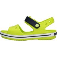 Schuhe Kinder Sandalen / Sandaletten Crocs - Crocband sand k verde 12856-3TX VERDE