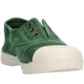 Schuhe Jungen Sneaker Low Natural World - Scarpa elast verde 470E-689 VERDE